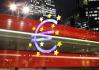 Ilustrační foto - Znak eura před budovou ECB. Ilustrační foto.