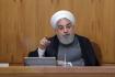 Íránský prezident Hasan Rúhání.