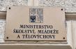 Ministerstvo školství, mládeže a tělovýchovy v Karmelitské ulici v Praze.