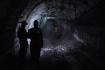 Těžba uhlí, horníci, důl - ilustrační foto.