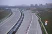 Ilustrační foto - V Přerově byl 12. prosince 2019 otevřen 14,3 kilometru dlouhý úsek dálnice D1 Přerov - Lipník nad Bečvou. Na snímku je místo před Přerovem, kde nově zprovozněný úsek dálnice prozatím končí.