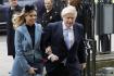 Ilustrační foto - Britský premiér Boris Johnson se svou snoubenkou Carrie Symondsovou (na snímku z 9. března 2020).