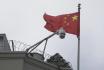 Čínská vlajka - ilustrační foto.