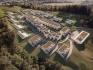 Projekt Na Výsluní byl navržen ve stylu italského horského městečka.