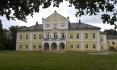 Zámek Nová Horka ve Studénce na Novojičínsku (na snímku z 25. září 2020) se po rozsáhlé rekonstrukci otevírá návštěvníkům.
