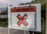 Provozovna uzavřená kvůli protikoronavirovým opatřením - ilustrační foto.