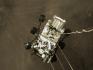 Na snímku NASA z 18. února 2021 je vozítko Perseverance před přistáním na planetě Mars.