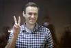 Ilustrační foto - Ruský lídr opozice Alexej Navalnyj u soudu v Moskvě 20. února 2021.