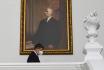 Premiér Andrej Babiš (ANO) přichází na schůzi Poslanecké sněmovny 26. února 2021 v Praze.