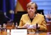 Ilustrační foto - Německá kancléřka Angela Merkelová na schůzi vlády 24. března 2021.