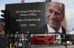 Ilustrační foto - Projekce v centru Londýna na poctu zesnulému britskému princi Philipovi, 9. dubna 2021.