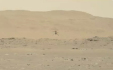 Malý vrtulník Ingenuity agentury NASA 22. dubna 2021 podruhé úspěšně vzlétl a přistál na Marsu.