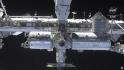 Ilustrační foto - Mezinárodní vesmírná stanice (ISS) při pohledu z vesmírné lodi Crew Dragon Endeavour společnosti SpaceX.