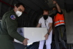 České vojenské letadlo 31. května 2021 přivezlo z Bělehradu přes 100.000 dávek vakcíny proti covidu-19 od společností Pfizer/BioNTech, které Srbsko Česku darovalo. Na vojenském letišti přistálo kolem 14:45. Vojáci poté vakcíny přeložili do sanitky, která je v chladících boxech odvezla.