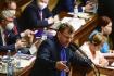 Ilustrační foto - Nezařazený poslanec Lubomír Volný vystoupil na schůzi Sněmovny k návrhu části opozice na vyslovení nedůvěry menšinové vládě ANO a ČSSD 3. června 2021 v Praze.