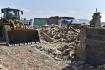 Ilustrační foto - V Mikulčicích na Hodonínsku začaly 29. června 2021 první demolice domů po ničivém tornádu.