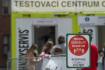 Testování na koronavirus - ilustrační foto.