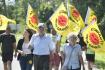 Lidé se 10. července 2021 v Maňovicích na Klatovsku zapojili do 18. ročníku protestního pochodu proti zřízení hlubinného úložiště jaderného odpadu v oblasti Březový potok. Pochod, po němž následoval koncert a diskuse, zorganizovalobčanský spolek \'Jaderný odpad? Děkujeme nechce!\'
