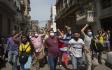 Ilustrační foto - Protivládní demonstrace v Havaně.