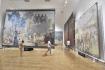 Výstava Slovanské epopeje Alfonse Muchy na zámku v Moravském Krumlově na Znojemsku se otevřela 28. července 2021 ve zkušebním provozu. Do 30. července se mohou přijít přednostně podívat obyvatelé města, pak se otevře všem zájemcům.