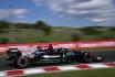 Lewis Hamilton z Mercedesu v kvalifkaci na Velkou cenu Maďarska.