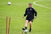 Trenér Pavel Vrba na tréninku fotbalistů Sparty 2. srpna 2021 v Praze před úvodním utkáním 3. předkola fotbalové Ligy mistrů Sparta Praha - AS Monako.