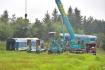 Správa železnic (SŽ) a České dráhy (ČD) zahájily 5. srpna 2021 odklízecí práce po čelní srážce vlaků u Milavčí na Domažlicku, při níž předešlého dne zemřeli tři lidé a desítky dalších byly zraněny.