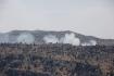 Kouř po raketovém útoku na Izrael poblíž libanonských hranic 6. srpna 2021. Přihlásilo se k němu hnutí Hizballáh.