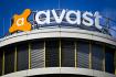 Ilustrační foto - Logo společnosti Avast na kancelářské budově Enterprise Office Centre v Praze na Pankáci.