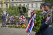 Pietní akt k uctění památky československých letců RAF se 16. srpna 2021 konal u jejich pomníku na pražském Klárově.
