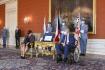 Prezident Miloš Zeman přijal 17. srpna 2021 na Pražském hradě novou izraelskou velvyslankyni Annu Azariovou.