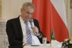 Ilustrační foto - Prezident Miloš Zeman na Pražském hradě.
