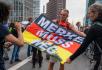 Demonstrace proti pandemickým opatřením v Berlíně 28. srpna 2021.