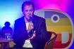 Generální ředitel České televize (ČT) Petr Dvořák vystoupil 2. září 2021 v Praze na tiskové konferenci dětského kanálu ČT :D k novinkám z televizního vysílání i z webu Déčka.
