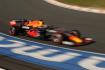 Pilot stáje Red Bull Max Verstappen v kvalifikaci na Velkou cenu Nizozemska.
