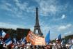 Demonstrace proti takzvaným covidovým pasům v Paříži 4. září 2021.