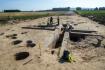 Archeologové pokračují 8. září 2021 ve výzkumu v místě budoucího obchvatu Doudleb nad Orlicí na Rychnovsku.