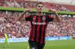 Ilustrační foto - Fotbalista Leverkusenu Patrik Schick se raduje z gólu.