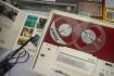Maketa magnetofonu B70 na výstavě 100 let od zahájení radiotechnické výroby v Přelouči, 13. září 2021 v Přelouči na Pardubicku. Výstava dokumentuje vývoj místních radiozávodů od roku 1921 až do 90. let 20. století.