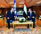 Naftali Bennett, Abdal Fattáh SísíIzraelský premiér Naftali Bennett (vlevo) se dnes v sinajském letovisku Šarm aš-Šajch setkal s egyptským prezidentem Abdal Fattáhem Sísím.
