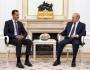 Zprava prezident RuskaVladimir Putin a jeho syrský protějšek Bašár Asad.