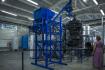 Reaktor pro plazmové zplyňování odpadu třetí generace ve vědeckotechnickém parku společnosti Millenium Technologies, 14. září 2021 v Dubé na Českolipsku.