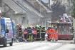 Hasiči zasahovali 15. září 2021 u výbuchu plynu v rodinném domě v Koryčanech na Kroměřížsku.