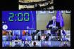 Šéf unijní diplomacie Josep Borrell hovoří s ministry zahraničí EU ve videohovoru.