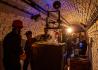 Vernisáží uměleckých audiovizuálních instalací v Bunkru začal 27. září 2021 mezinárodní filmový festival Elbe Dock v Ústí nad Labem. Areál civilní obrany byl doposud veřejnosti nepřístupný.Na snímku je instalace s názvem Maska, jejíž autorem je Jan Slanina.