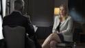 Bývalá zaměstnankyně společnosti Facebook Frances Haugenová v pořadu televize CBS 60 Minutes.