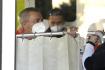 Vratislav Mynář, vedoucí Kanceláře prezidenta Miloše Zemana, asistuje 10. října 2021 u prezidentovy hospitalizace v Ústřední vojenské nemocnici (ÚVN) v Praze.