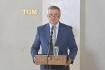 Briefing vedoucího Kanceláře prezidenta republiky Vratislava Mynáře ke zdravotnímu stavu prezidenta Miloše Zemana se konal 18. října 2021 na Pražském hradě.