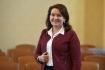 Akademický senát Univerzity Karlovy volil 22. října 2021 v Praze nového rektora univerzity. Na snímku je kandidátka Milena Králíčková.
