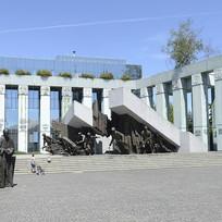 Památník Varšavského povstání ve Varšavě.
